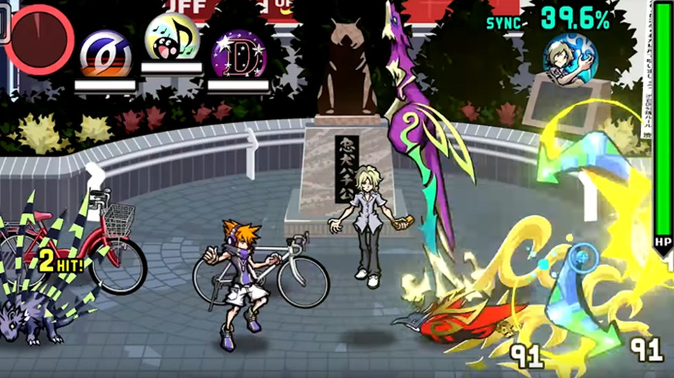The World Ends With You Final Remix traz o clássico do Nintendo DS de volta para o Switch (Foto: Reprodução)