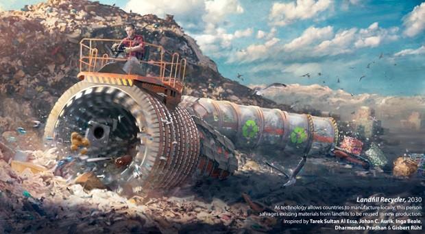 Ilustração de Florian de Gesincourg - Futuro do Trabalho - WEF (Foto: Divulgação)