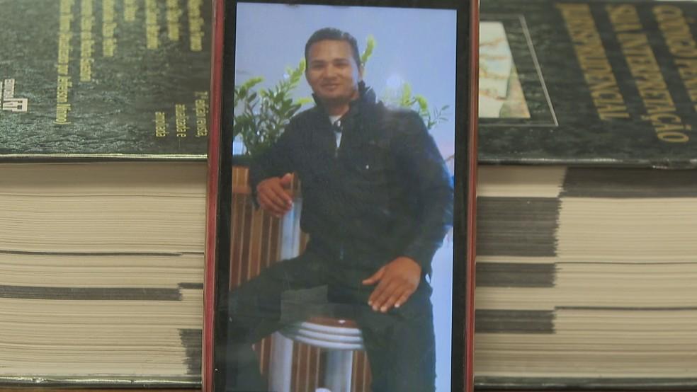Danilo Moraes Gomes é suspeito de matar a irmã, e já foi acusado por homicídio e estupro no estado do Maranhão — Foto: Tv Globo/ Reprodução