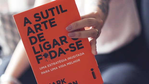 A Sutil Arte de Ligar o F*da-se foi o livro mais vendido de 2018 até agora (Foto: Divulgação)