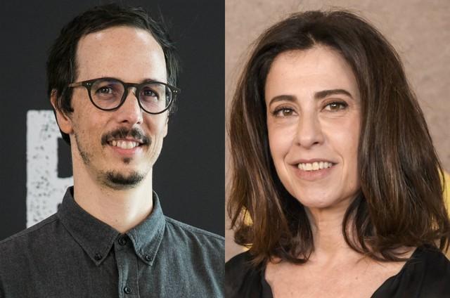 Lucas Paraizo e Fernanda Torres (Foto: TV Globo)