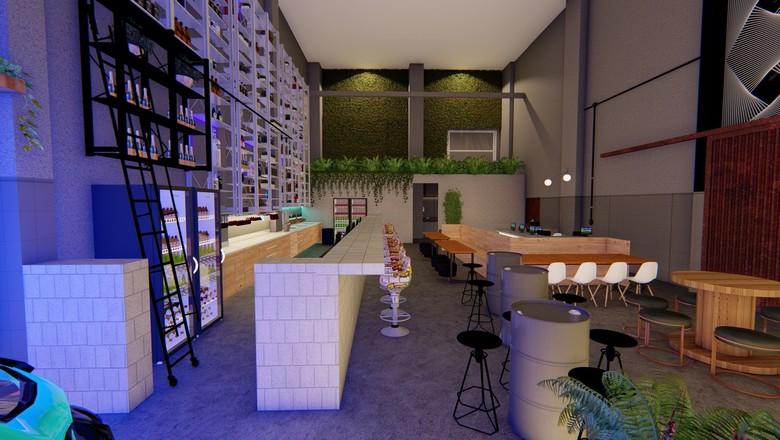 bar-inbox-curitiba-fábrica-café-damasco (Foto: Divulgação/ Inbox)