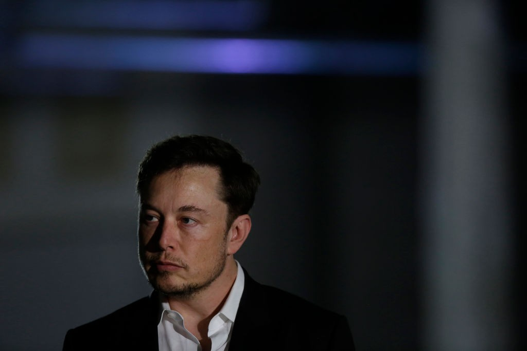 Elon Musk (Foto: Joshua Lott/Getty Images)