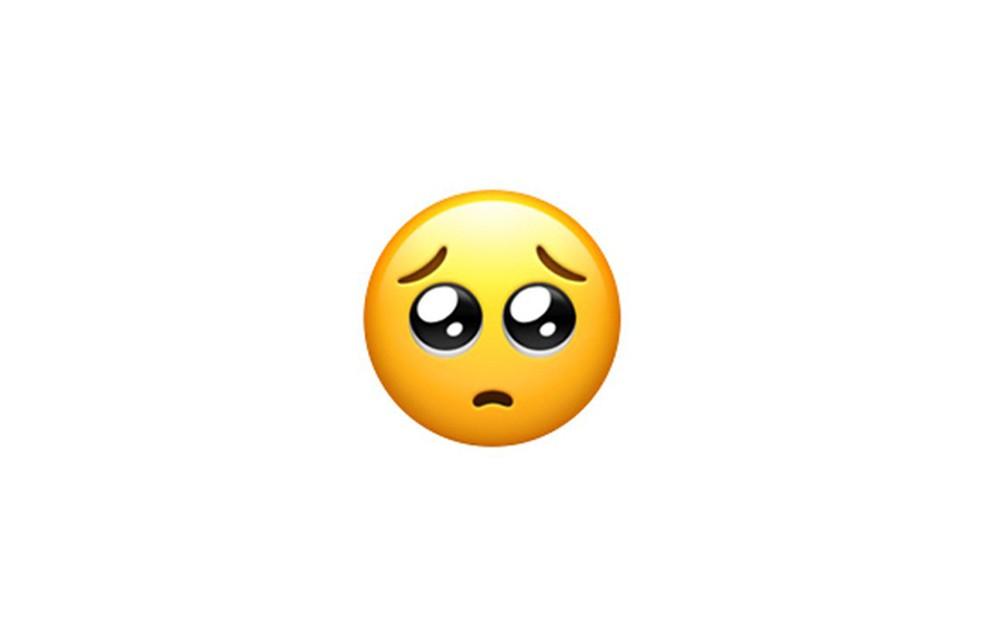 Carinha que implora serve como estratégia para convencer pessoas — Foto: Reprodução/Emojipedia
