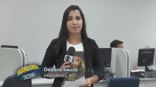 Mais de 50 eleitores justificam voto do 2° turno em Ariquemes, RO