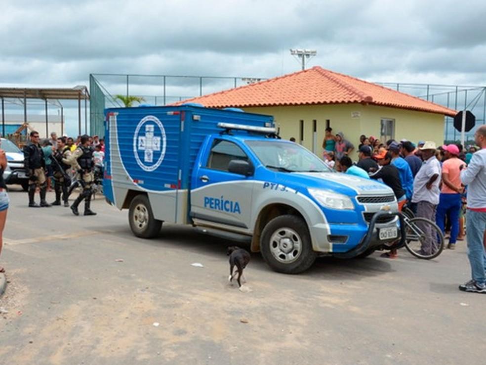 Crime ocorreu em fevereiro de 2017, em Vitória da Conquista (Foto: Anderson OLiveira/Blog do Anderson))