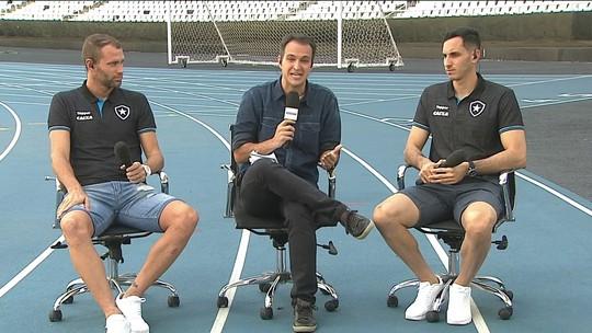 Gatito e Carli comentam ao vivo sobre título estadual do Botafogo