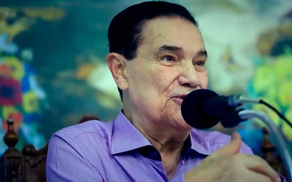 Divaldo Franco completa sete décadas de oratória da doutrina espírita — Foto: Imagem/TV Bahia