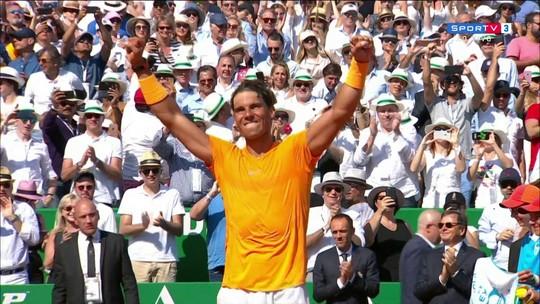 Pontos finais: Rafael Nadal 2 x 0 Kei Nishikori na decisão do Masters 1000 de Monte Carlo