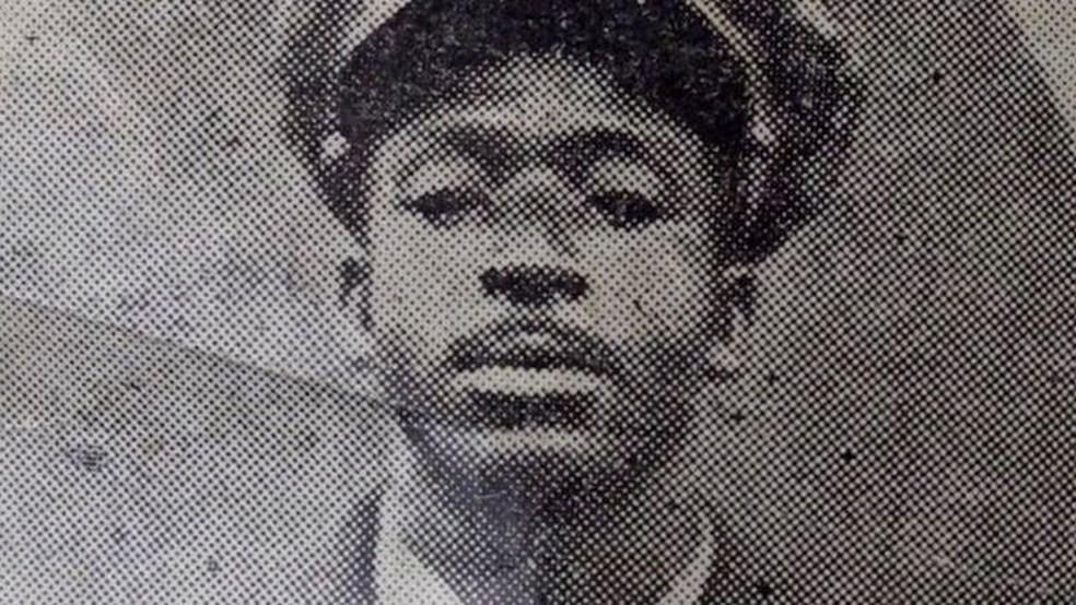 Job Maseko explodiu navio alemão durante 2ª Guerra Mundial — Foto: BBC