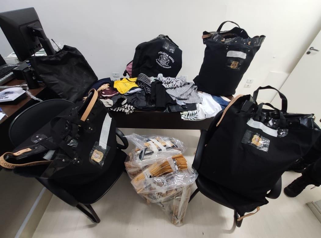 Operação Trapos de Luxo desarticula grupo criminoso que furtava roupas e causou mais de R$ 1 milhão em prejuízo a lojas no Oeste Paulista