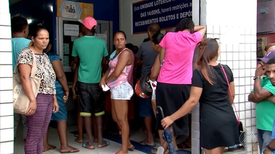 Única lotérica de cidade no sul da BA fica lotada após fazer aposta ganhadora na Mega da Virada