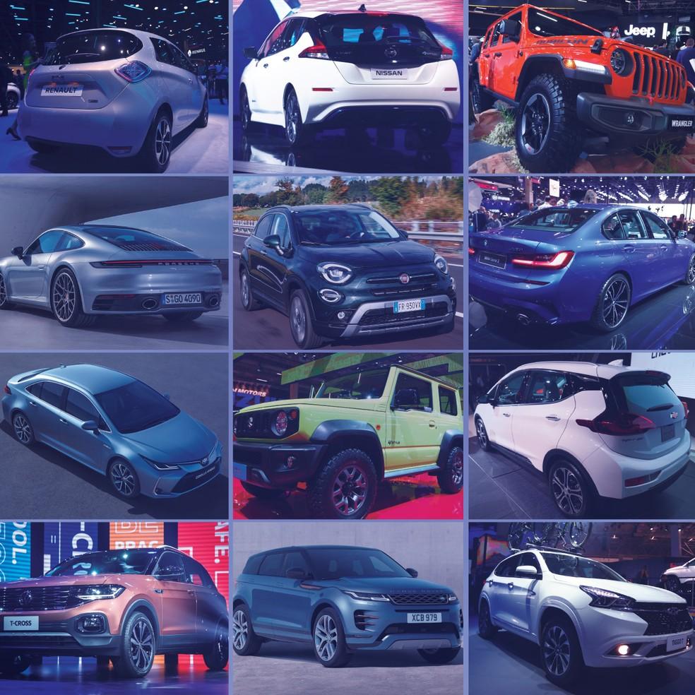 Carros esperados 2019 — Foto: G1