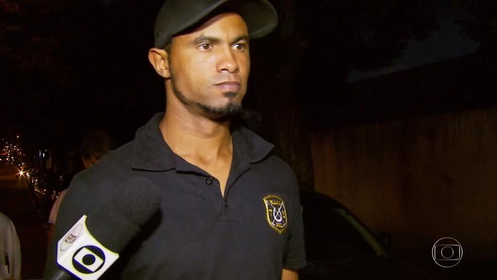 Bruno já tinha se apresentado à polícia no Sul de Minas na noite desta quarta-feira (26) (Foto: Reprodução/TV Globo )