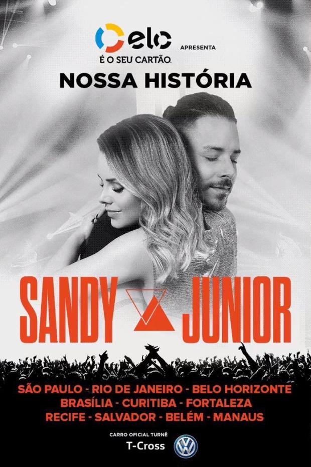 Sandy e Junior falam sobre turnê de reencontro (Foto: Reprodução/Twitter/Rede Globo)