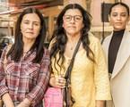 Na segunda-feira (25), Lurdes (Regina Casé) conhecerá Vitória (Taís Araujo) e Thelma (Adriana Esteves) | Rede Globo / João Cotta