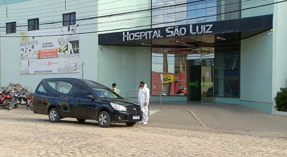 Morte por Covid RN — Foto: Hugo Andrade/Inter TV Costa Branca