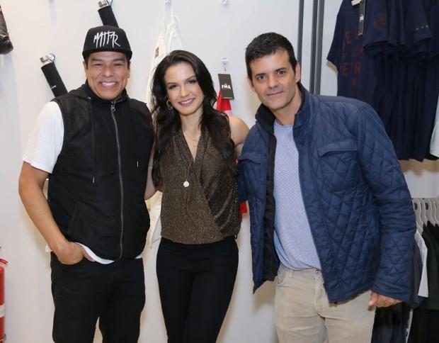 Maurício Mattar, Kyra Gracie e Jorge Pontual (Foto: Daniel Pinheiro/AgNews)