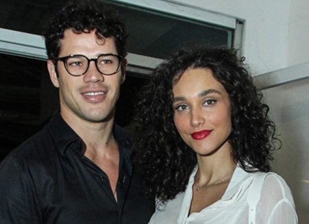 José Loreto e Debora Nascimento (Foto: Marcello Sá Barretto/AgNews)