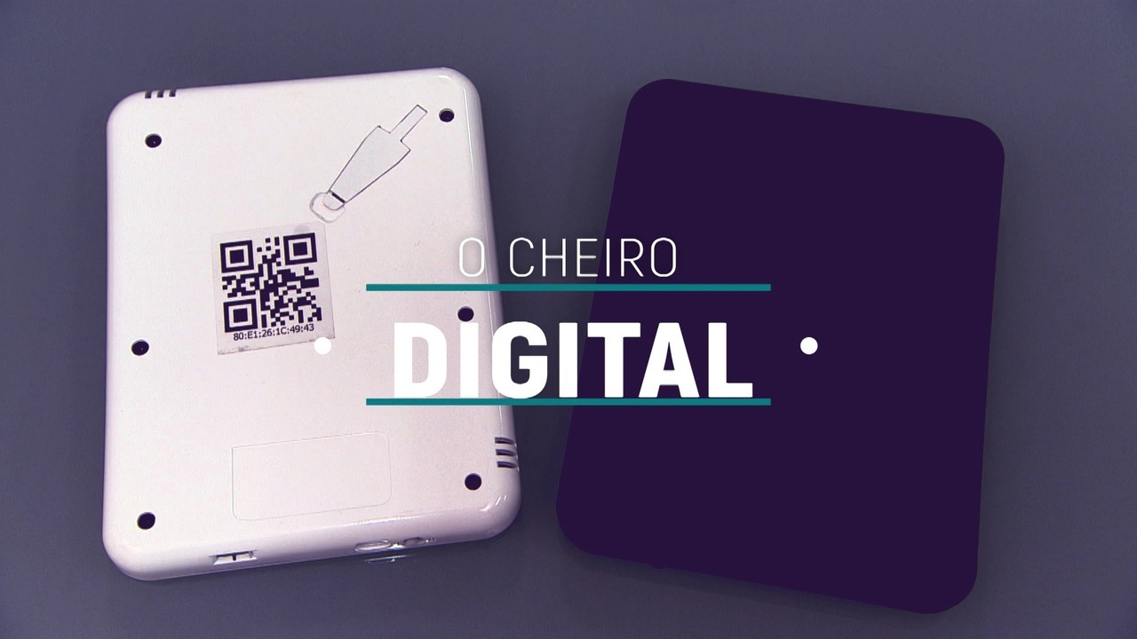 Startup cria dispositivo que emite cheiro digital