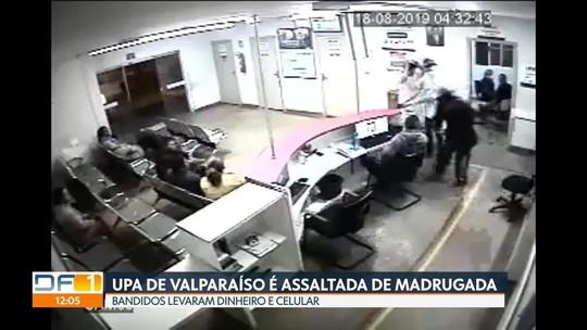 UPA de Valparaíso é assaltada pela terceira vez