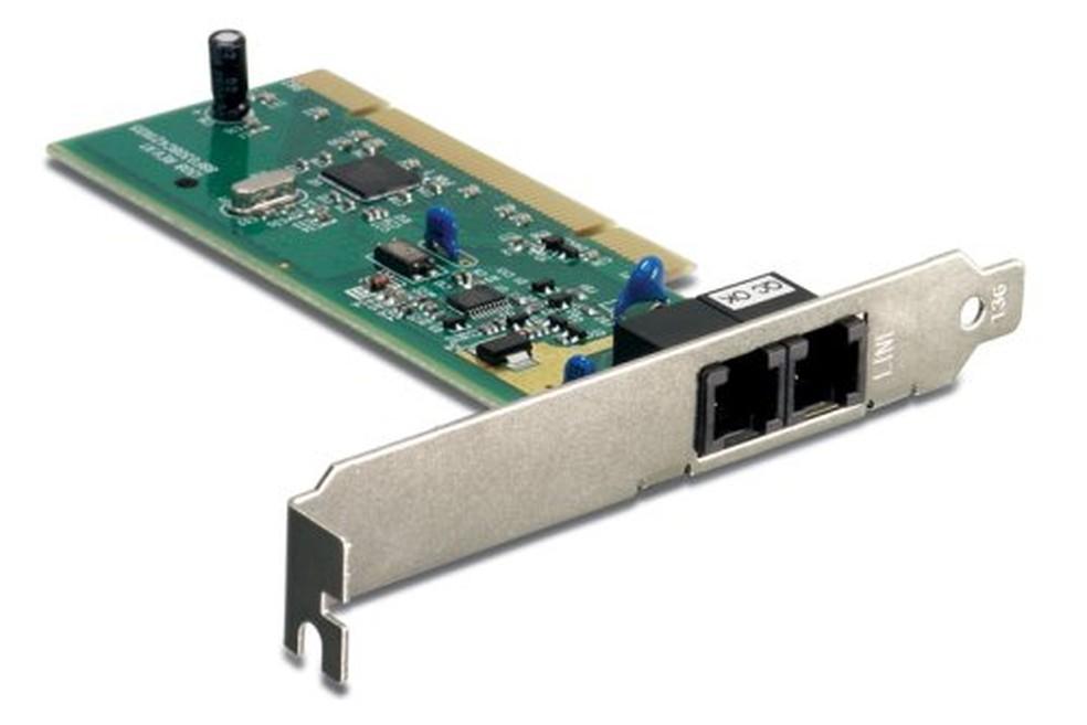 Internet discada exigia um modem dial up, geralmente embutido nos PCs — Foto: Divulgação/Trendware International