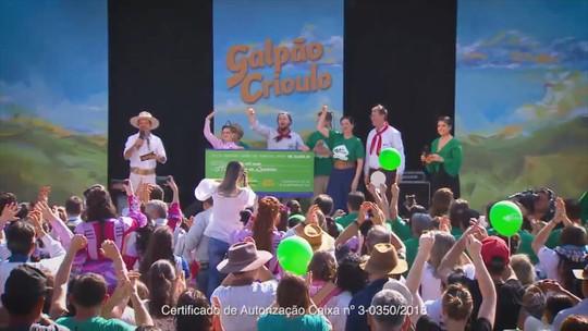 'Galpão Crioulo' comemora vitória do CTG Rodeio da Querência no Meu Galpão de Cara Nova