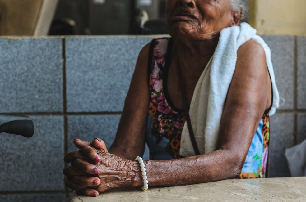 Casos de violência financeira contra a pessoa idosa aumentaram 272% em Pernambuco — Foto: Ray Evllyn/SJDH/Divulgação