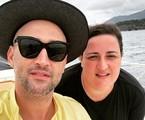 Paulo Gustavo e Juliana Amaral | Reprodução