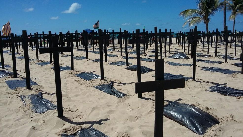 Foram registrados 318 Crimes Violentos Letais Intencionais (CVLIs) em outubro — Foto: Danilo César/TV Globo/Arquivo