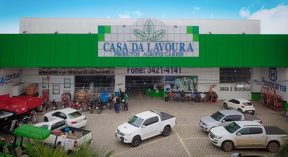 Fachada da Loja de Ji-Paraná — Foto: Fonte Premium