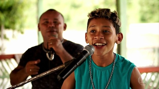 Conheça Johny Wlad, participante do 'The Voice Kids'