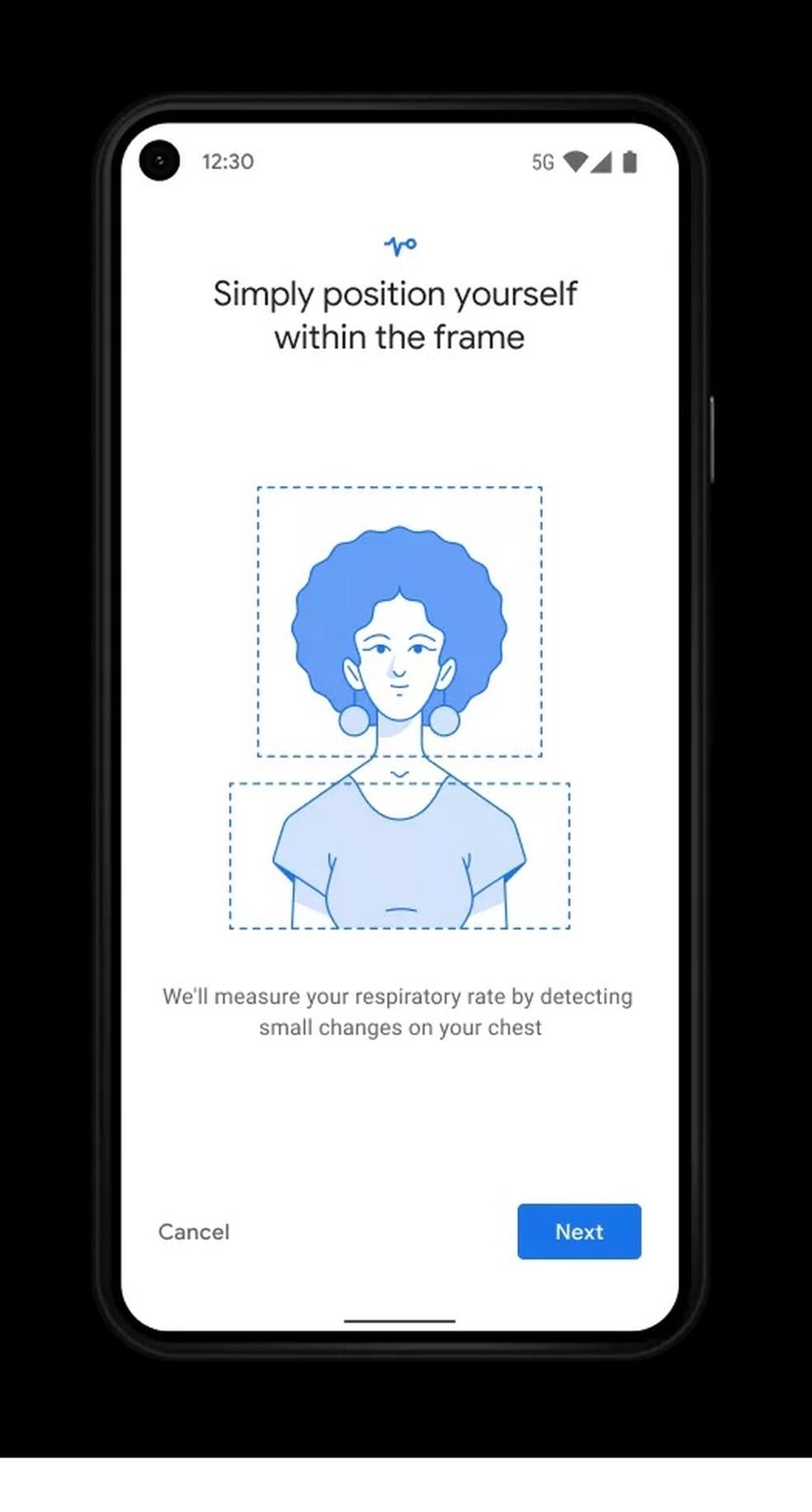 Google Fit passará a contar com ferramenta para medir frequência cardíaca e respiratória — Foto: Reprodução/The Verge
