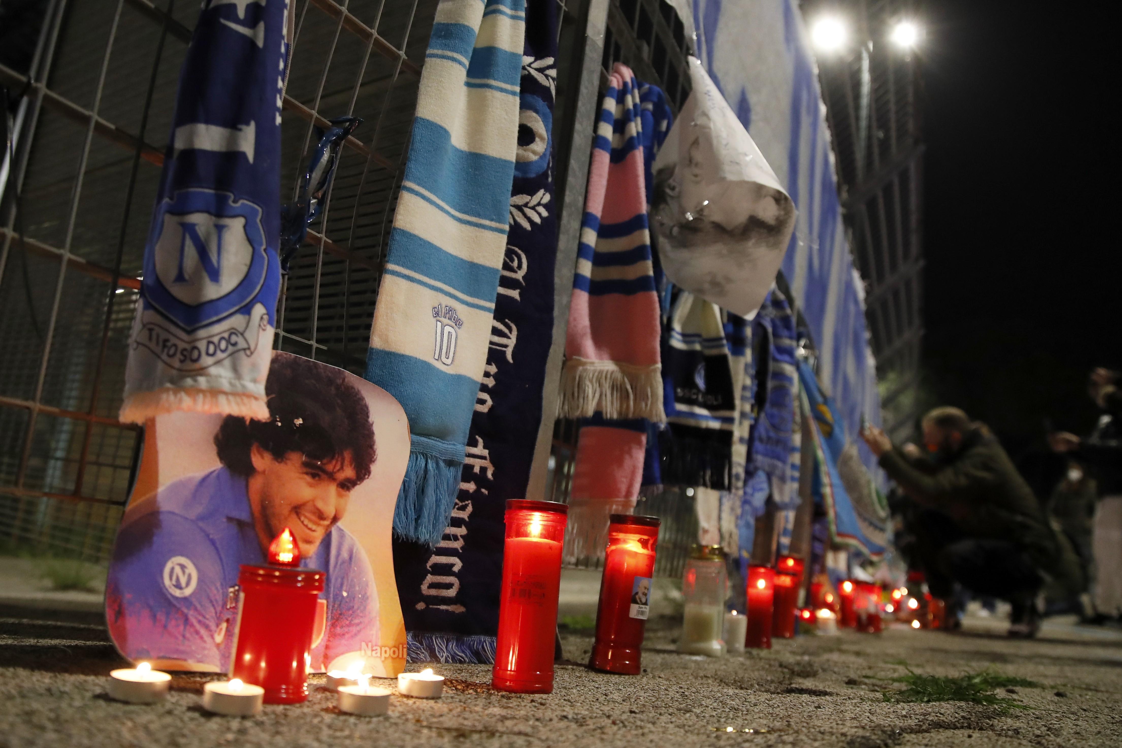 Buenos Aires, Nápoles, Sevilha, Munique: veja homenagens a Maradona pelo mundo