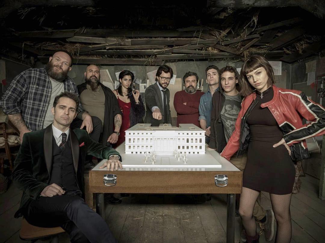 """""""La Casa de Papel"""" ganha prêmio em Cannes (Foto: Reprodução / Instagram)"""