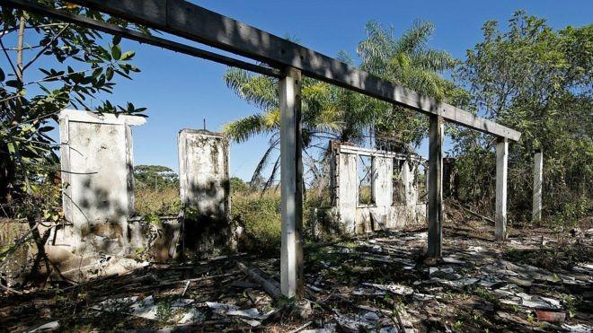 A selva acabou sendo mais forte que o sonho do americano (Foto: Getty Images/BBC)