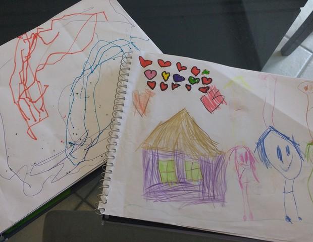 Meu filho não desenha (Foto: Paola Lobo)
