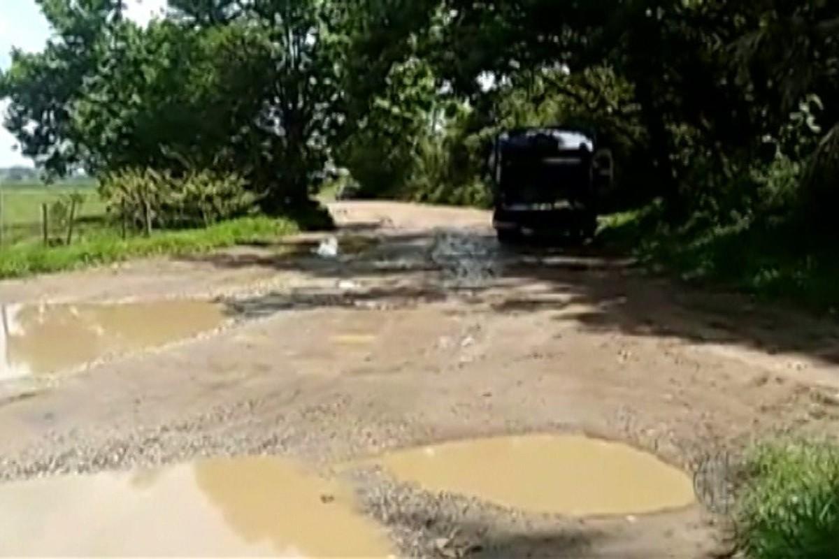 Condições da Estrada Duchen continuam gerando reclamações entre moradores de Suzano