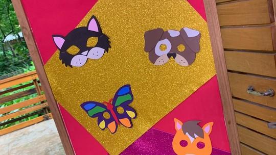 Máscaras infantis de Carnaval: faça acessórios de E.V.A. usando moldes de bichinhos