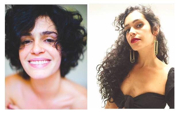 Maria Flor deixou a novela porque está grávida. Anteriormente, ela tinha aderido a um aplique (Foto: Reprodução)
