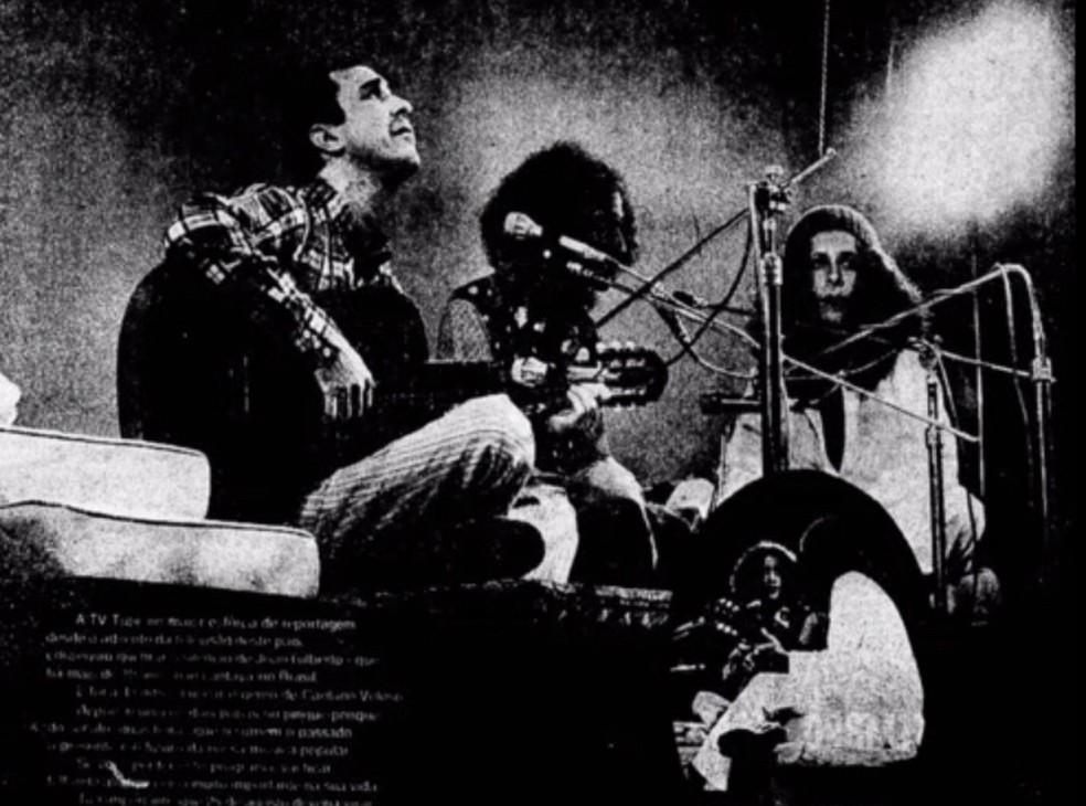 Áudio de especial de João Gilberto com Caetano Veloso e Gal Costa vem à tona