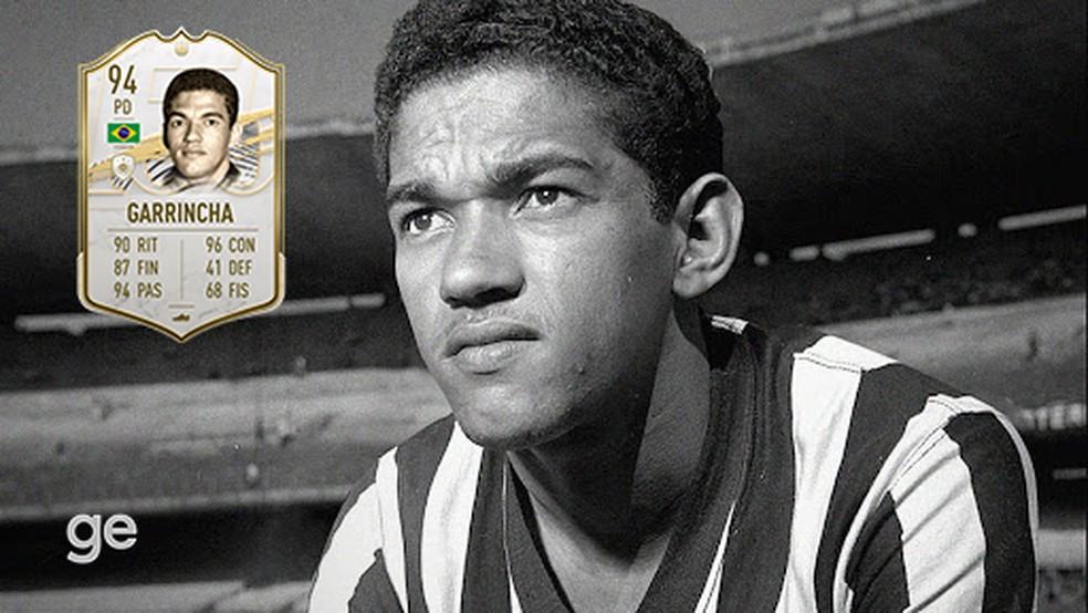 Mané Garrincha é um dos pontas de destaque do FIFA 21 — Foto: Reprodução