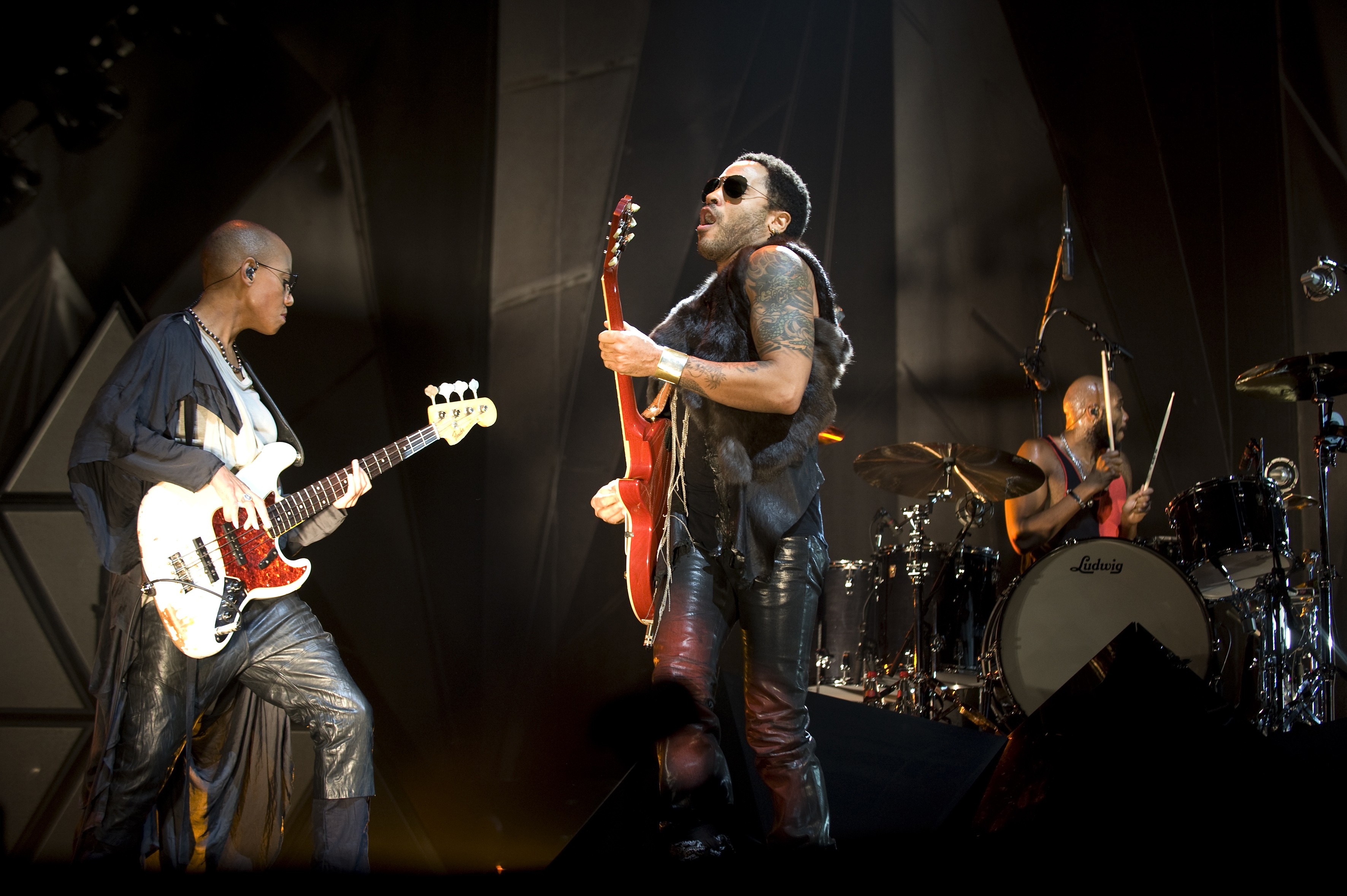 Gail Ann Dorsey e Lenny Krevitz (Foto: Getty Images)