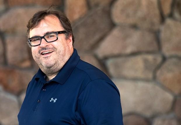 Reid Hoffman, fundador do LinkedIn (Foto: Drew Angerer/Getty Images)