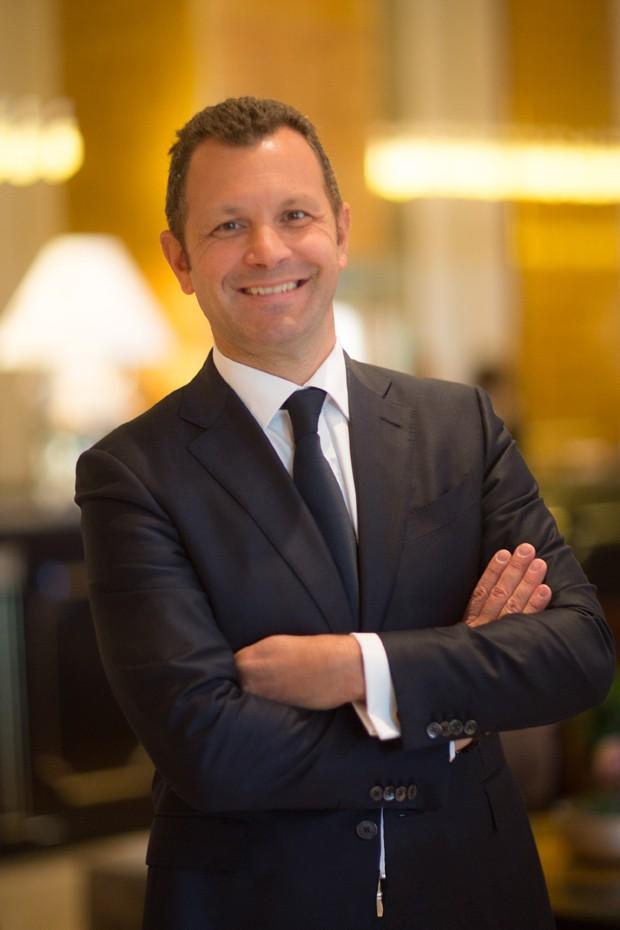 O gerente Pierre-Louis Renou (Foto: Divulgação)