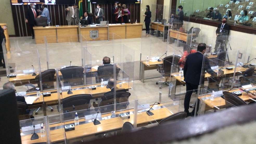 Reforma da previdência do RN é aprovada na Assembleia Legislativa — Foto: Geraldo Jerônimo/Inter TV Cabugi