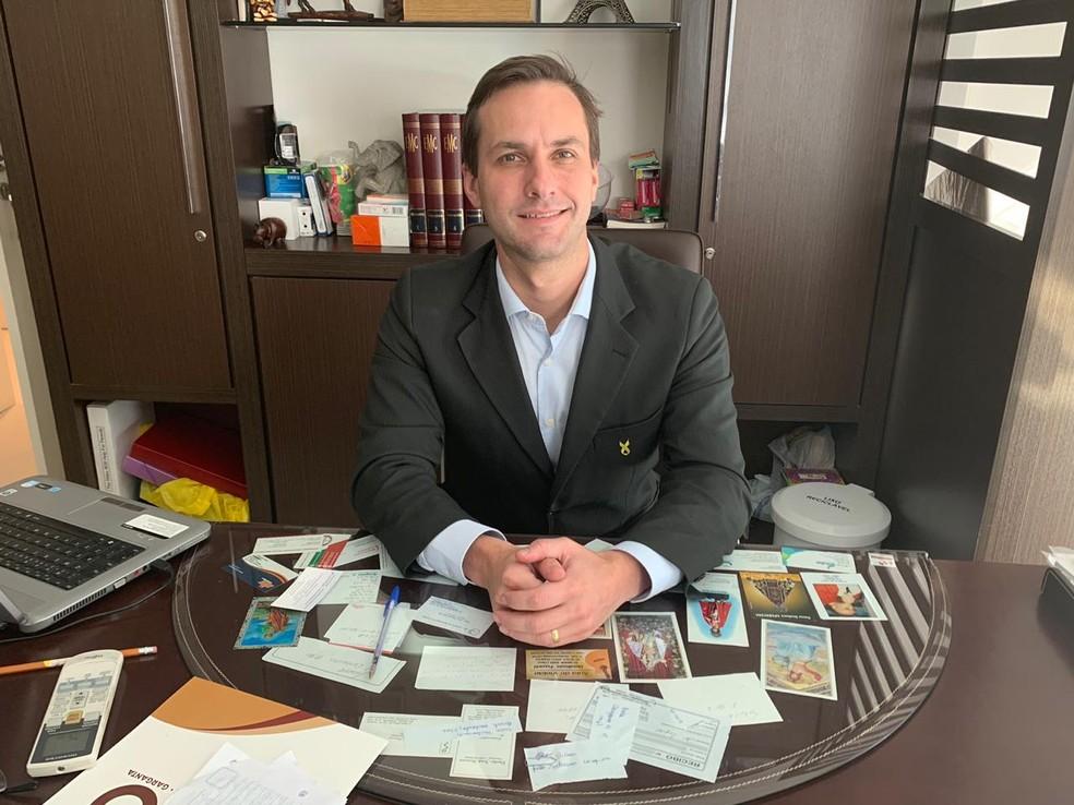O médico psiquiatra Paulo André Grabowski conversou, com o G1, sobre depressão — Foto: Arquivo pessoal