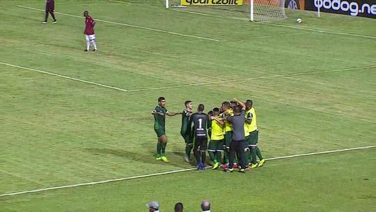 Barbieri comenta boa atuação contra o Sergipe e pede que Goiás continue evoluindo