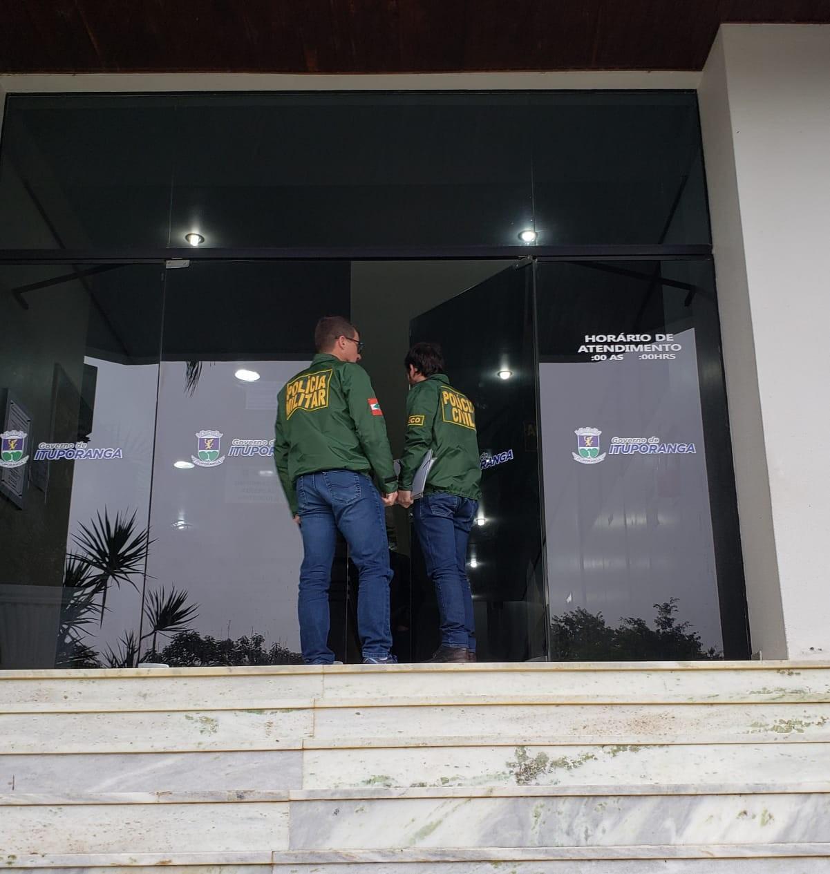 Prefeito e secretário de Ituporanga são afastados por determinação da Justiça - Notícias - Plantão Diário