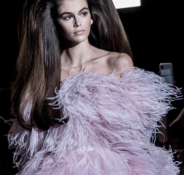 Ucha Meirelles Alta-Costura (Valentino Couture / outono-inverno 2018) (Foto: Getty Images)